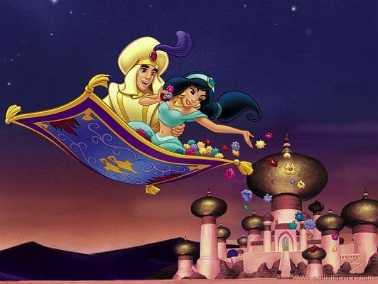 immagini di aladdin da colorare