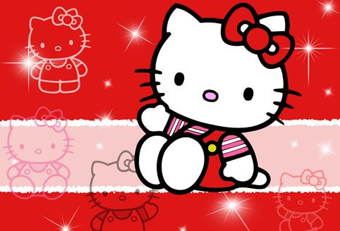 immagini hello kitty da colorare