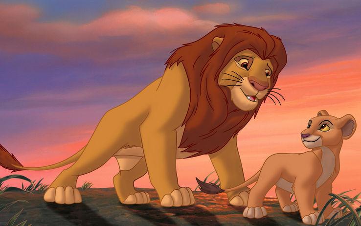 immagini film il re leone