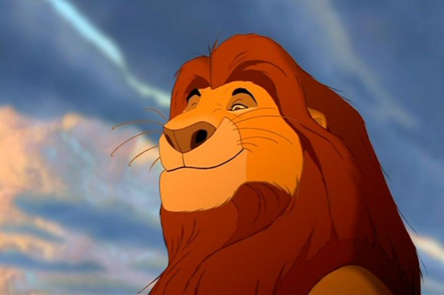 immagini il re leone da colorare
