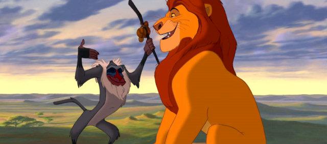 immagini del cartone animato il re leone