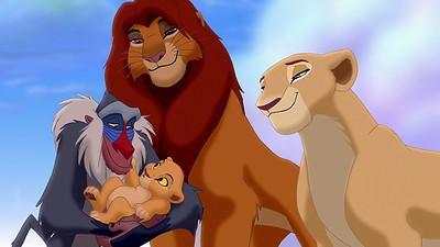 illustrazione il re leone