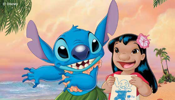illustrazione lilo e stitch