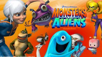 image mostri contro alieni