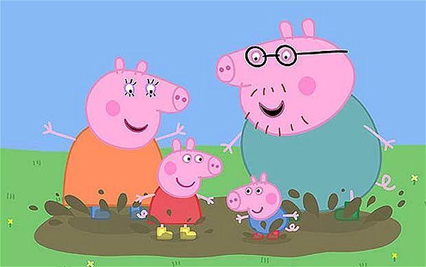 illustrazione peppa pig