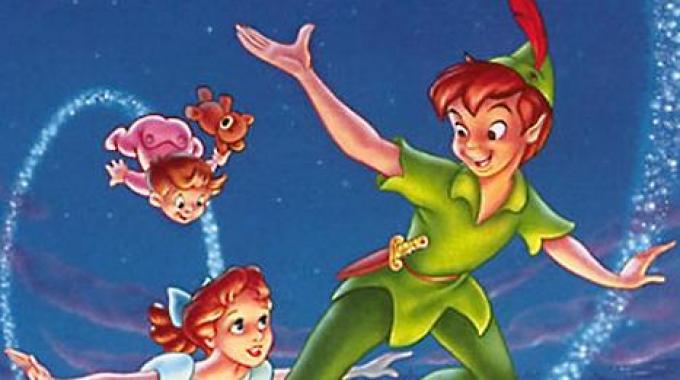 illustrazione peter pan
