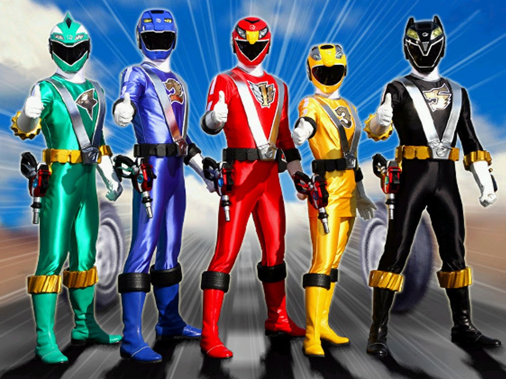 immagine di power rangers