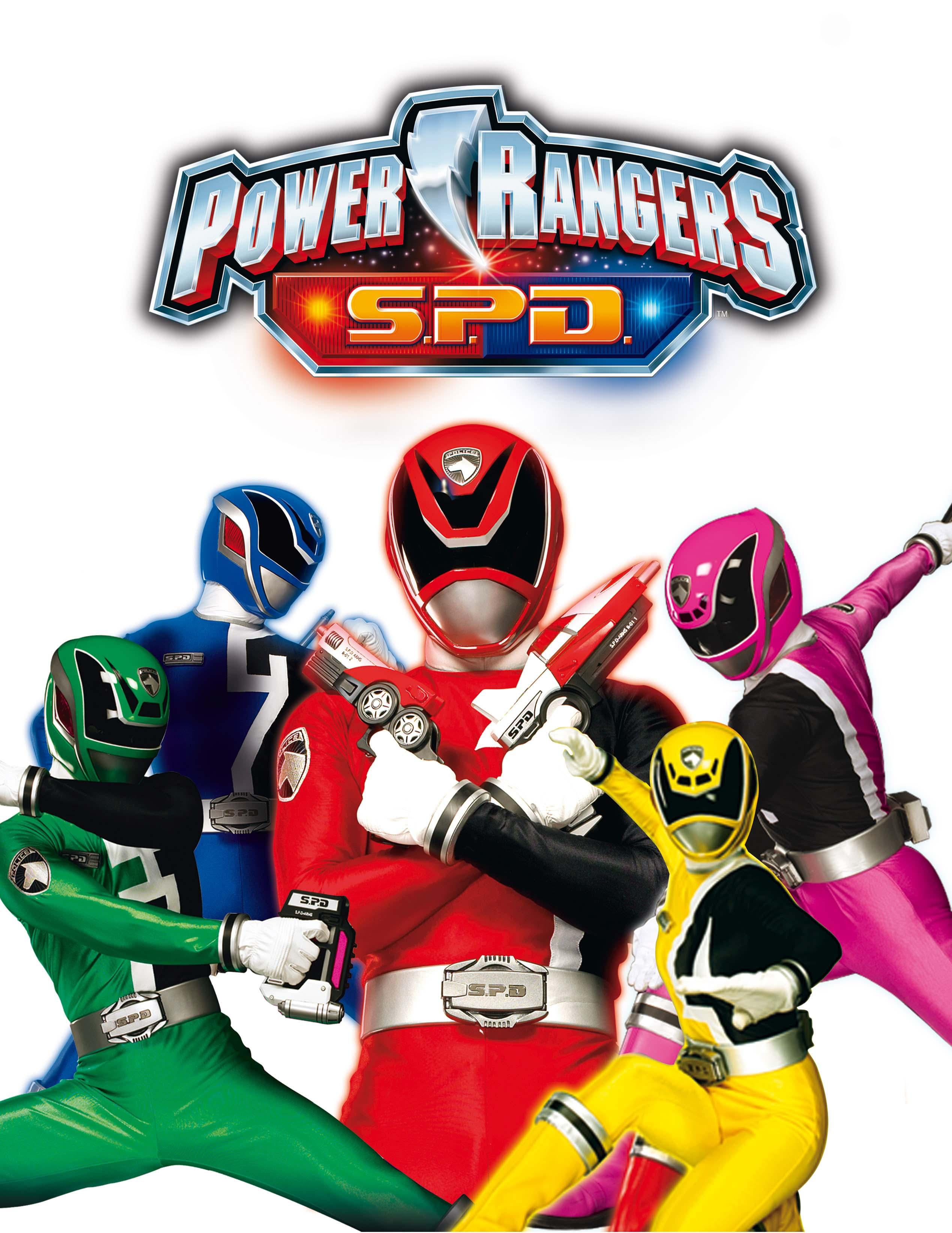 illustrazione power rangers