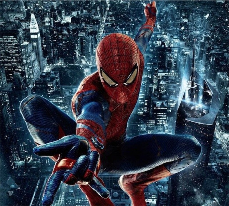 immagini spiderman da colorare