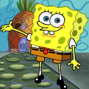 illustrazione spongebob