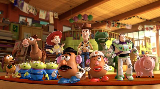 illustrazione toy story